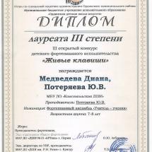 Медведева Д.+Ю.В.
