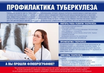 Плакат Профилактика туберкулеза
